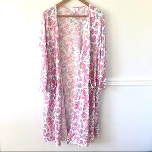 Lularoe floral sarah sweater.